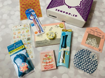 ZenPop Japanese Packs May 2020 Review + Coupon – Stationery Box