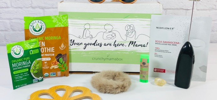 Crunchy Mama July 2020 Subscription Box Review