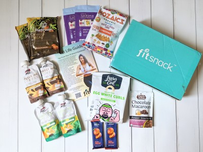 FitSnack June 2020 Subscription Box Review