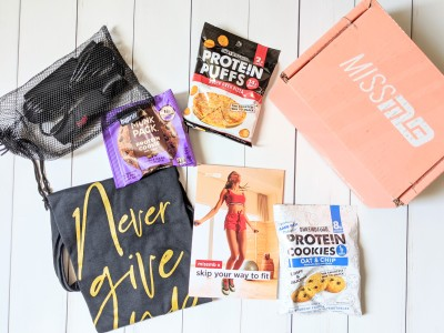 Miss MuscleBox Subscription Box Review + Coupon – June 2020