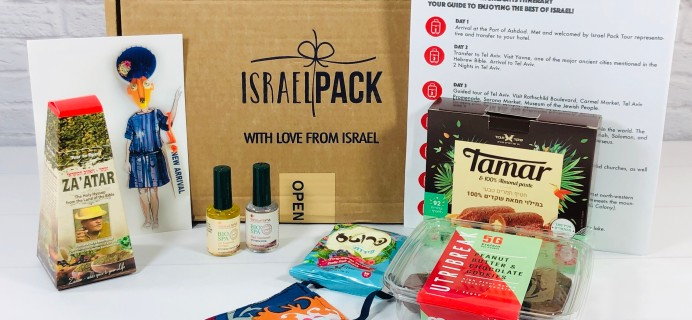 Israel Pack June 2020 Subscription Box Review + Coupon!