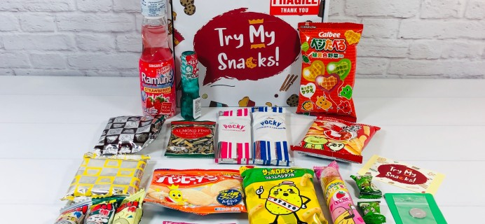 Try My Snacks June 2020 Subscription Box Review