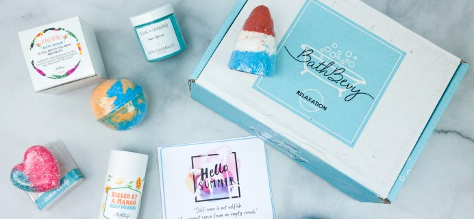 Bath Bevy July 2020 Subscription Box Review + Coupon