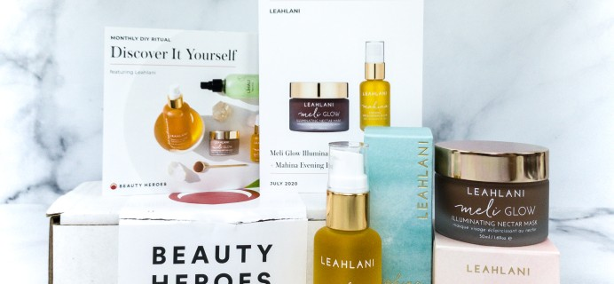 Beauty Heroes July 2020 Subscription Box Review