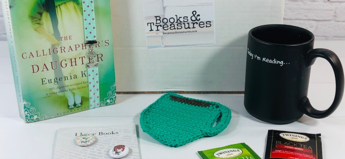 Books & Treasures July 2020 Subscription Box Review + Coupons