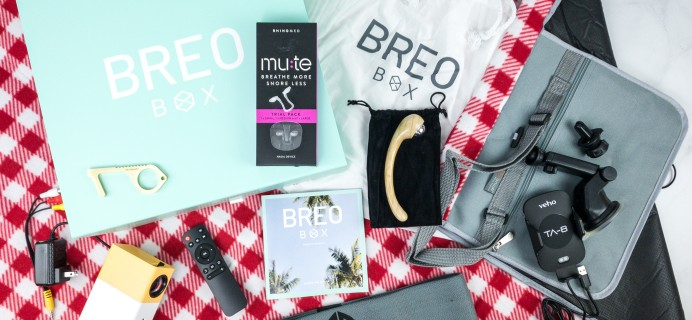 Breo Box Summer 2020 Available For One-Time Purchase!
