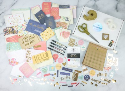 Busy Bee Stationery July 2020 Subscription Box Review