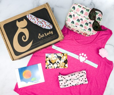 Cat Lady Box July 2020 Subscription Box Review – PURR PARADISE
