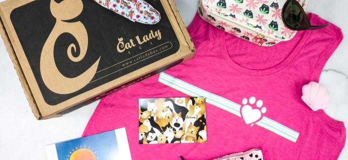 Cat Lady Box July 2020 Subscription Box Review – PURR PARADISE
