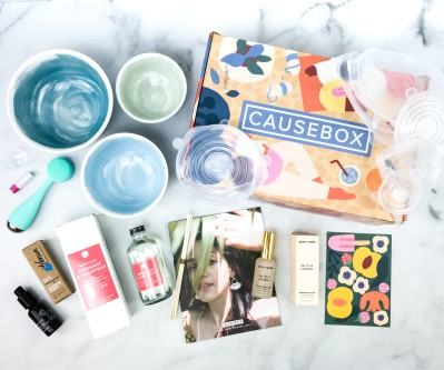 CAUSEBOX Summer 2020 Subscription Box Review + Coupon