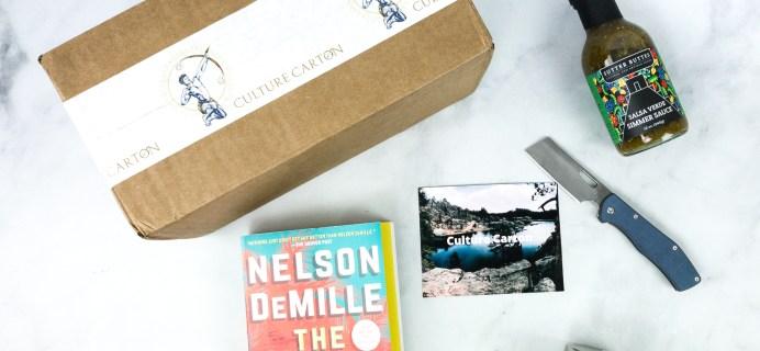 Culture Carton July 2020 Subscription Box Review + Coupon