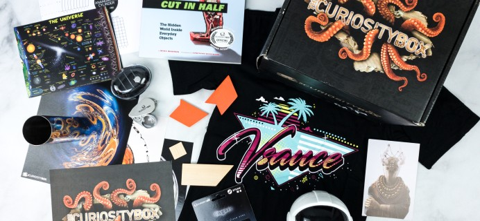 The Curiosity Box by VSauce Summer 2020 Subscription Box Review