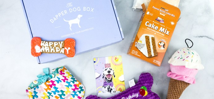 The Dapper Dog Box July 2020 Subscription Box Review + Coupon