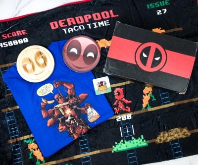 Deadpool Club Merc June 2020 Subscription Box Review + Coupon