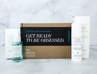 The Detox Box July 2020 Subscription Box Review