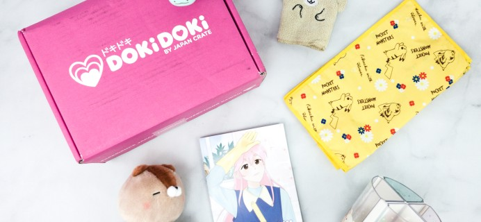 Doki Doki April 2020 Subscription Box Review & Coupon