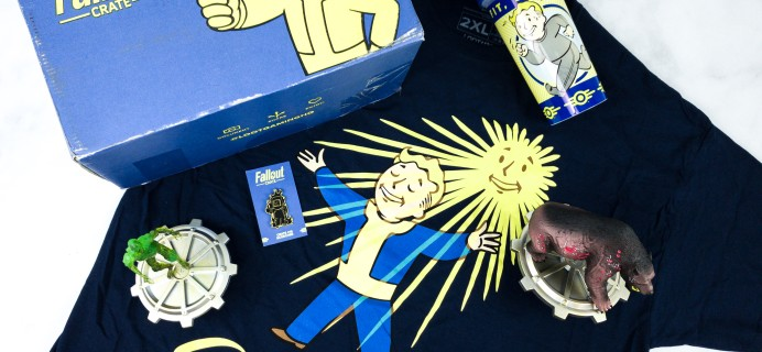 Loot Crate Fallout Crate June 2020 Review + Coupon