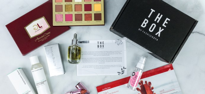 THE BOX By Fashionsta June 2020 Subscription Box Review