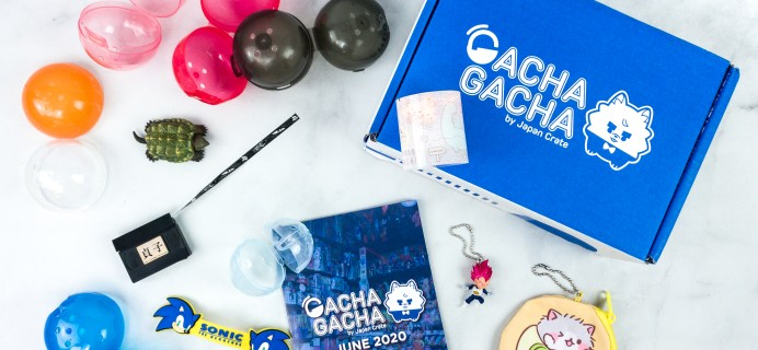 Gacha Gacha Crate June 2020 Subscription Box Review + Coupon