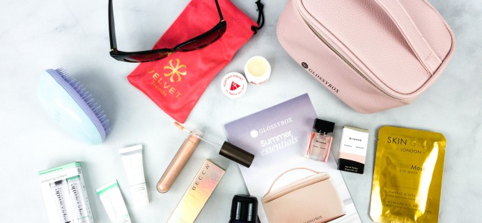 GLOSSYBOX 2020 Limited Edition Summer Essentials Review