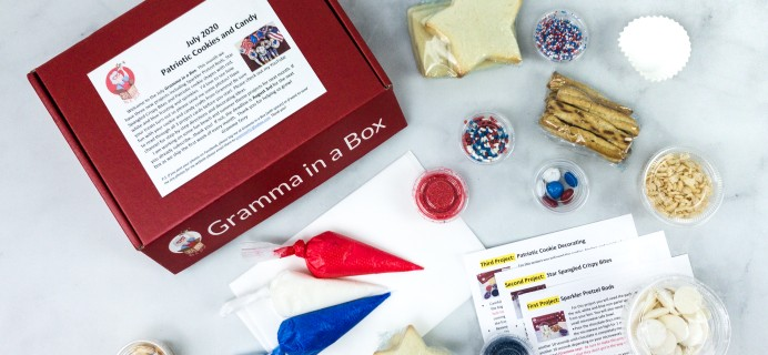 Gramma in a Box July 2020 Subscription Box Review + Coupon