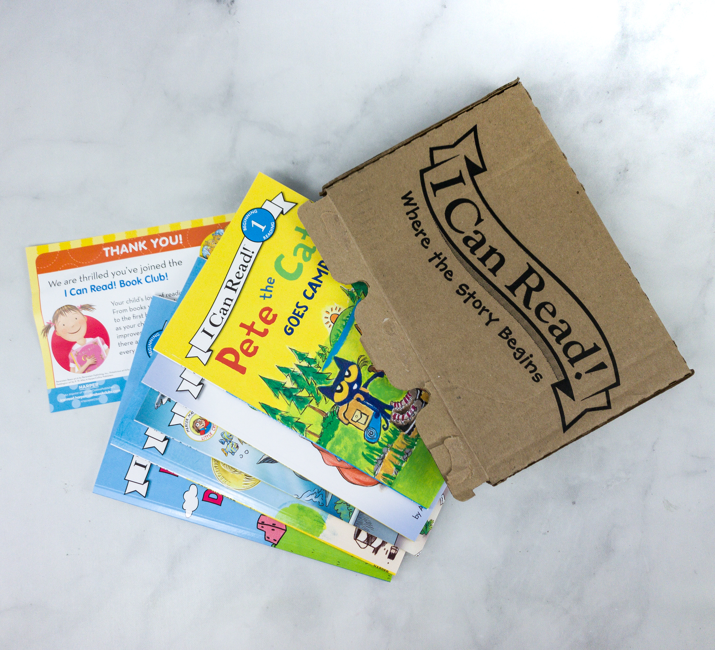 I Can Read Book Club Subscription Box Review Coupon Hello Subscription
