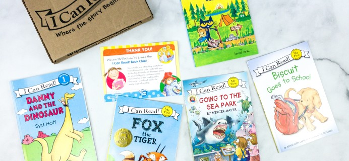 I Can Read! Book Club August 2020 Subscription Box Review + Coupon