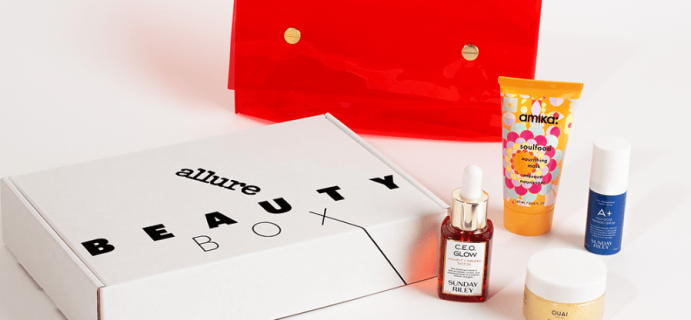 Allure Beauty Box September 2020 FULL Spoilers + Coupon – Available Now!