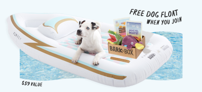 BarkBox Coupon: FREE Funboy Pool Float!