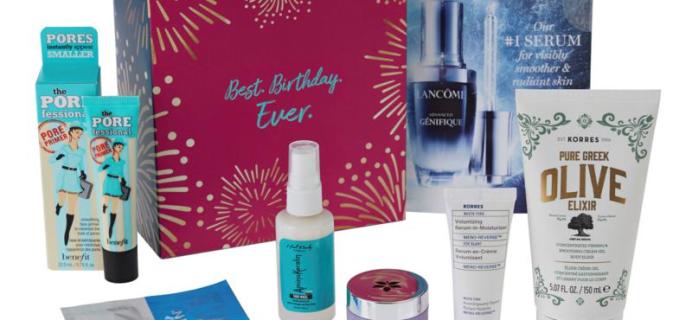 HSN Beauty Birthday Box Available Now!