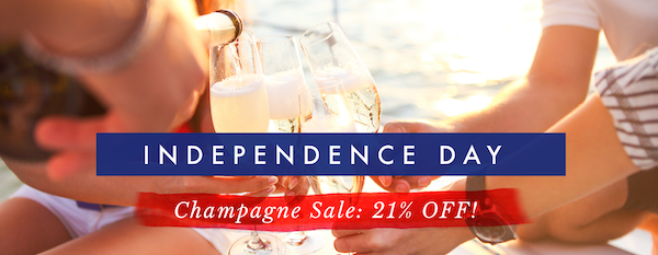 Gold Medal Wine Fourth of July Sale: Get 21% Off French Champagne!