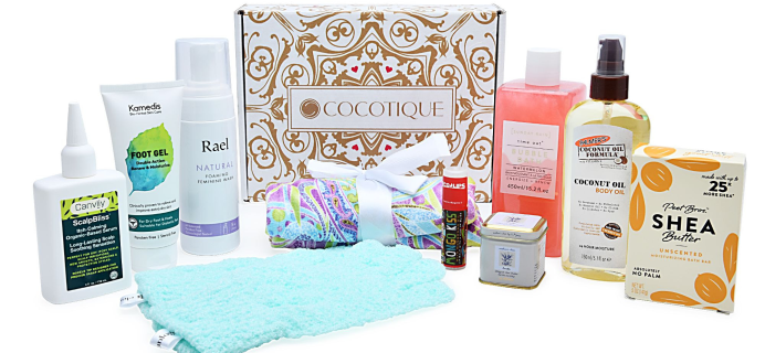 Cocotique Limited Edition Summer Self-Care Must-Haves Box Available Now!