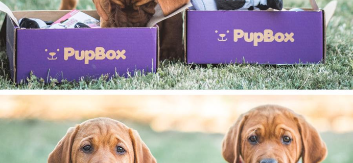 PupBox Sale: First Box For Just $4!