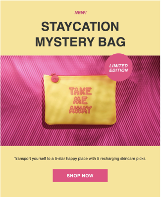 Ipsy Limited Edition Summer 2020 Staycation Mystery Bag Available Now!