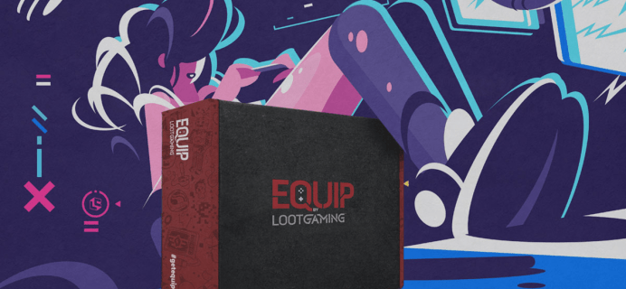 Equip by Loot Gaming August 2020 Theme Spoilers!