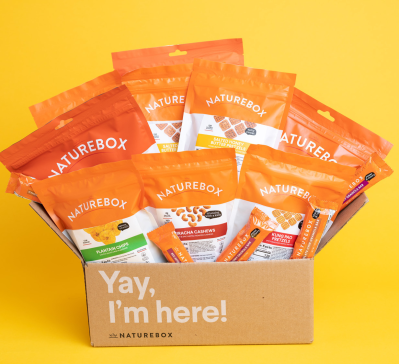 NatureBox New Year Deal: Get 21% off SITEWIDE!