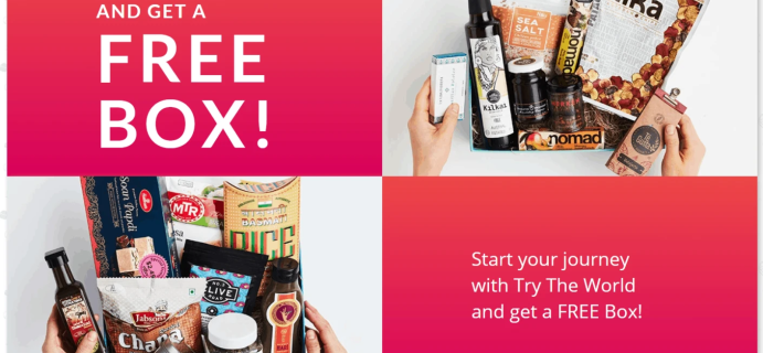 Try the World Summer Sale: Buy Any Box, Get a BONUS BOX FREE!