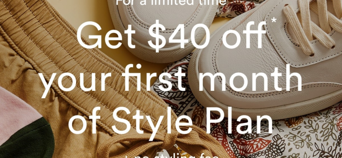 Frank And Oak Coupon: Get FREE Styling Fee – $40 Off First Box!