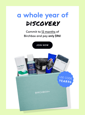 Birchbox Grooming Coupon: Get 12 Months for $8 Per Box Shipped!