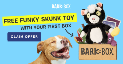 BarkBox Coupon: FREE Bonus Toy With Your First Box!