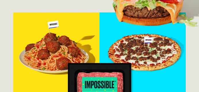 Home Chef Impossible Burger Available Now + Coupon!