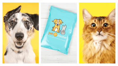 Pet Treater Cyber Monday Coupon: Get 55% Off First Box!
