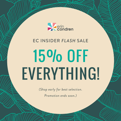 Erin Condren Flash Sale: Save 15% On Everything!