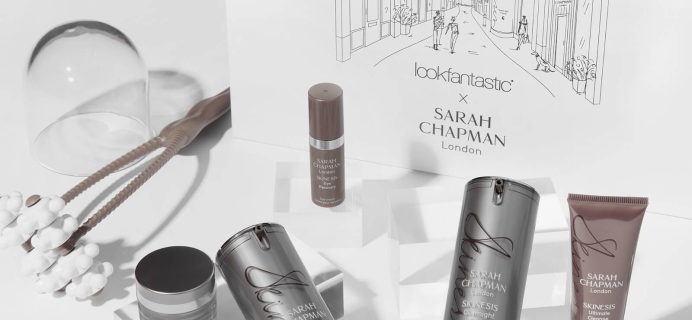 Lookfantastic x Sarah Chapman Limited Edition Beauty Box Available Now + Full Spoilers!