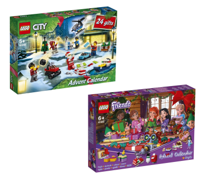 Lego 2020 Advent Calendars Coming Soon – Friends & City Town!