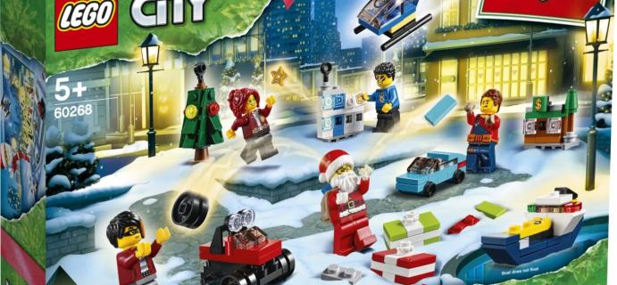 Lego City Town 2020 Advent Calendar Available Now!