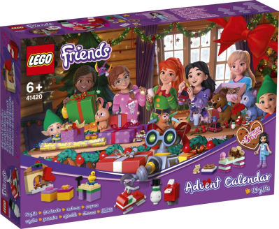 Lego Friends 2020 Advent Calendar Available Now!