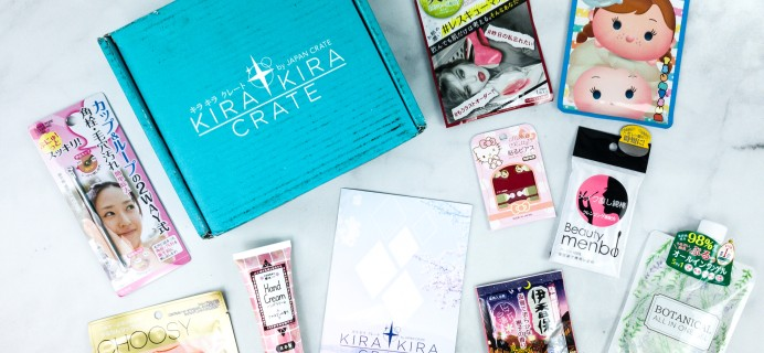 Kira Kira Crate April 2020 Subscription Box Review + Coupon