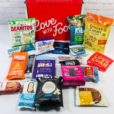 Love With Food July 2020 Deluxe Box Review + Coupon!
