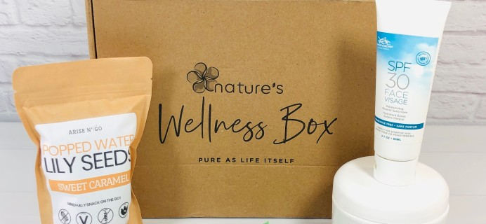 Nature's Wellness Box July 2020 Subscription Box Review